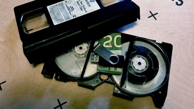 Build a Secret Compartment Into a VHS Tape
