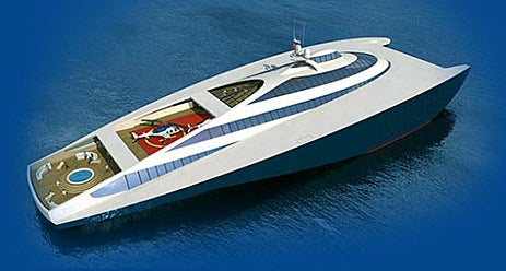 328-Foot RAM Wing 100 Yacht Zips Along at 100 Knots