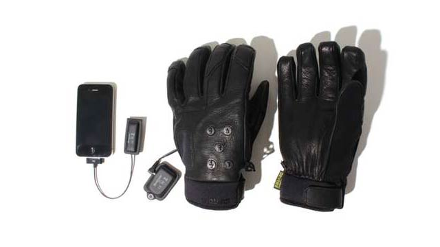 Burton's Mix Master Gloves Can Wirelessly Control Your iPhone (Sort Of)
