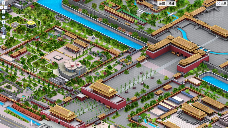 China Just Won Simcity With Censorship Bypassing 3d Baidu Maps