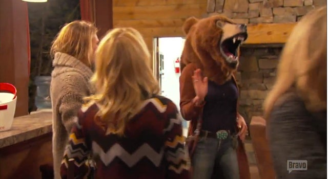 Real Housewives of New York Finally Escape The Beaver