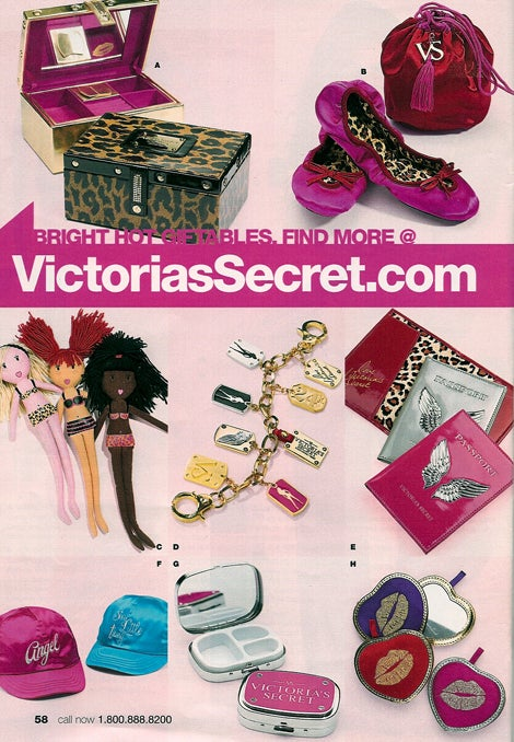 """Victoria's Secret's """"Last Minute Gifts"""": Whose Fantasy Is This, Anyway?"""