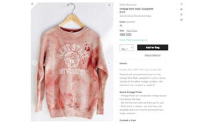 Urban Outfitters Offers 'Vintage' Blood-Splattered Kent State Shirt [Updated]