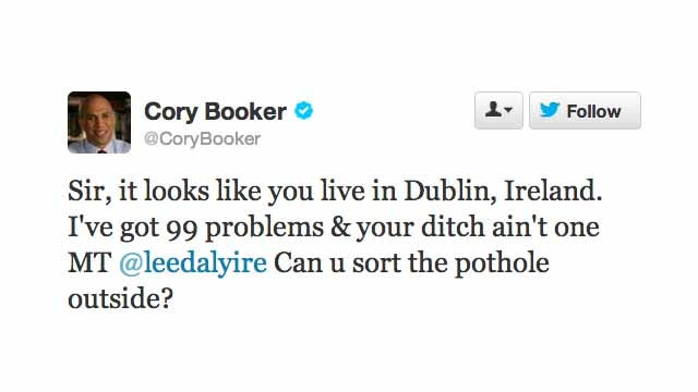 You Can Add 'Jay Z Comebacks' to the List of Things Cory Booker Is Great At