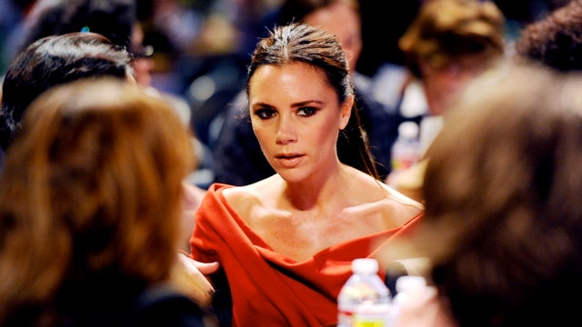 Mean Audience Snickers At Victoria Beckham's Fashion Show
