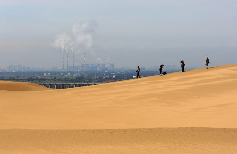 Why This Luxury Resort Appeared in the Middle of the Mongolian Desert