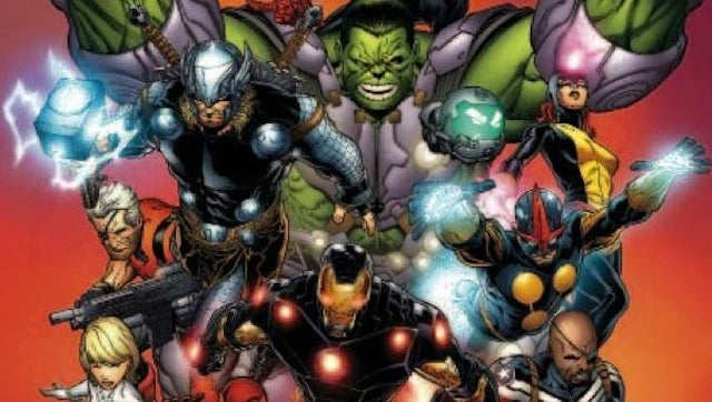 What the Hell Is Going on with the Avengers and X-Men in This Picture?