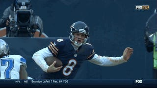 Jimmy Clausen Got Speared In The Head