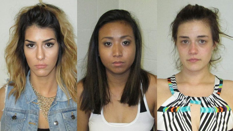 Three Chicks Arrested After Twerking, Peeing in City Hall Parking Lot