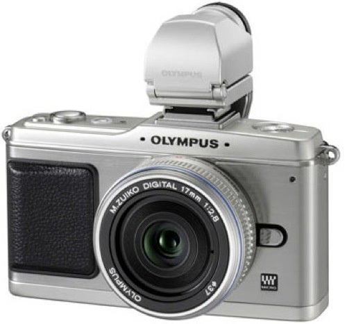 Olympus PEN-EP2 Receives Coat of Retro Silver Paint