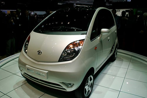 Tata Nano, Not for Europe; Just Saying Hi To Geneva