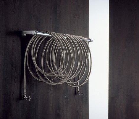 "Coiled ""Garden Hose"" Radiator is Versatile, Mobile"