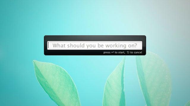 Focusbar Intelligently Reminds You to Avoid Procrastination