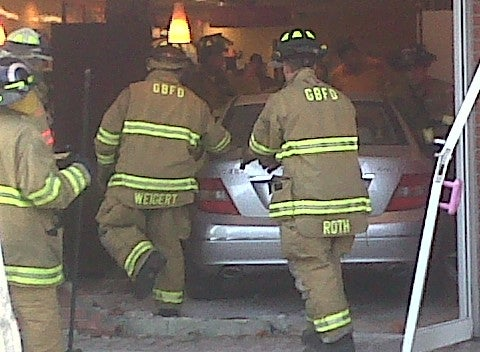 Female Driver Plows Into Reader's Dunkin' Donuts This Morning: His Report