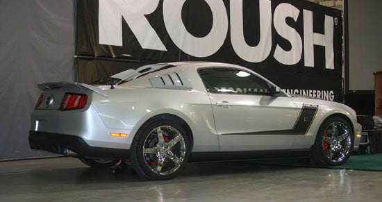 2010 ROUSH 427R Mustang: Live Unveil Of The New 435 HP Boy Racer!