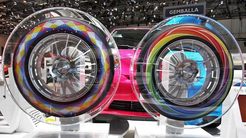 Printed Tires Are The Next Generation Of White Walls