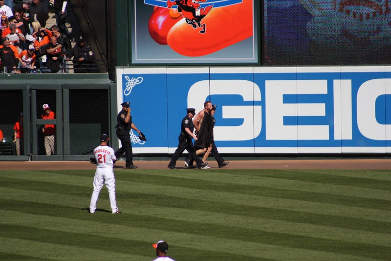Camden Yards Streaker Was Clad In Undies And A Cape [Update: It May Have Been Batman]