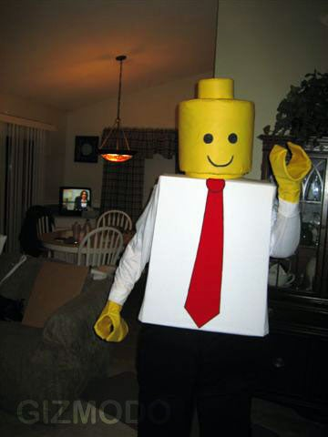 Almost-Perfect Lego Costume Allows Man to Get Anonymously Drunk to Pieces