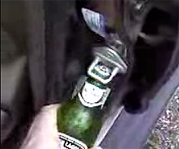 Open a beer with your car door