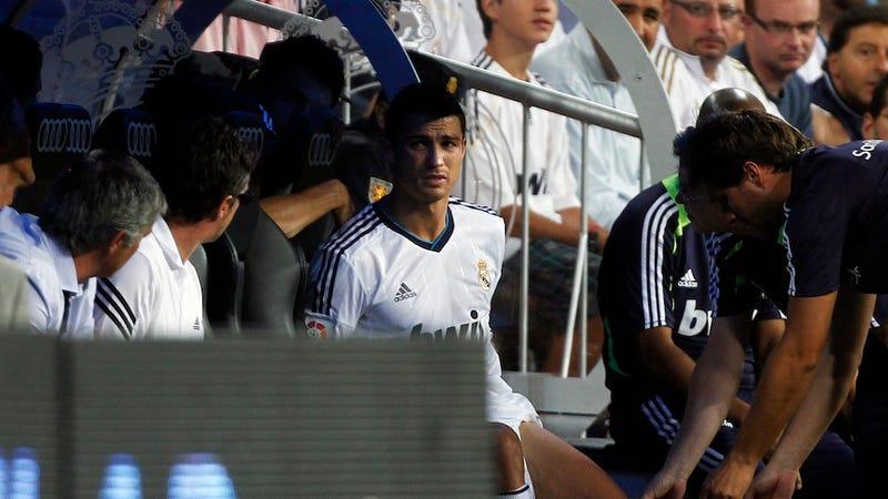 Cristiano Ronaldo Has A Sad
