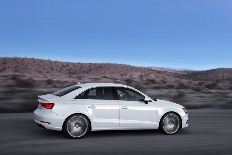 AUDI ANNOUNCES PRICING FOR ITS ALL-NEW 2015 A3 SEDAN