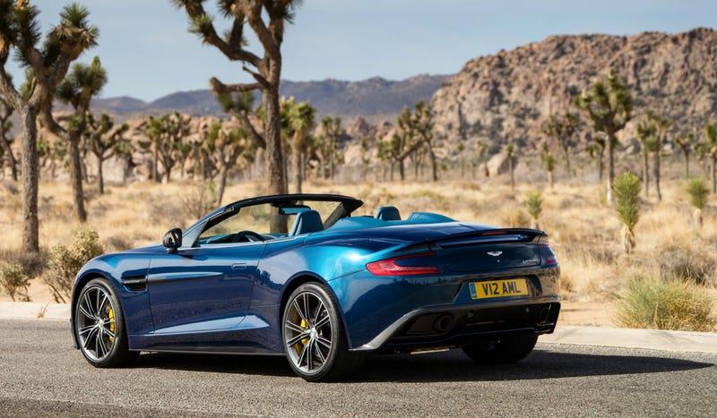 2014 Aston Martin Vanquish Volante: This Is It