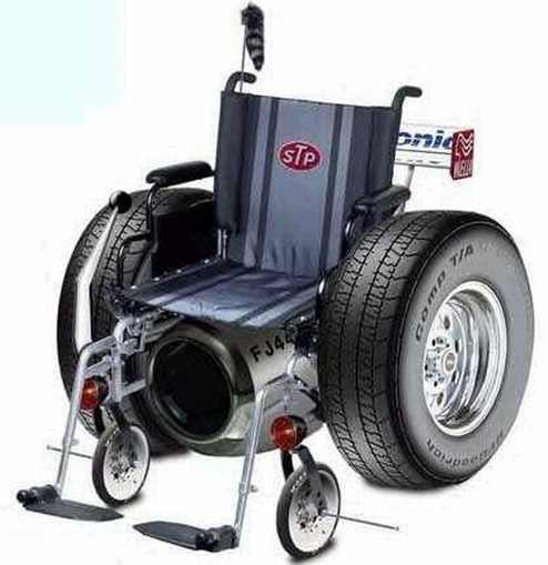Granddad Robs Bank, Makes Getaway On Wheelchair