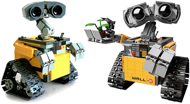 The first images of Lego's upcoming WALL•E set are unbelievably adorable