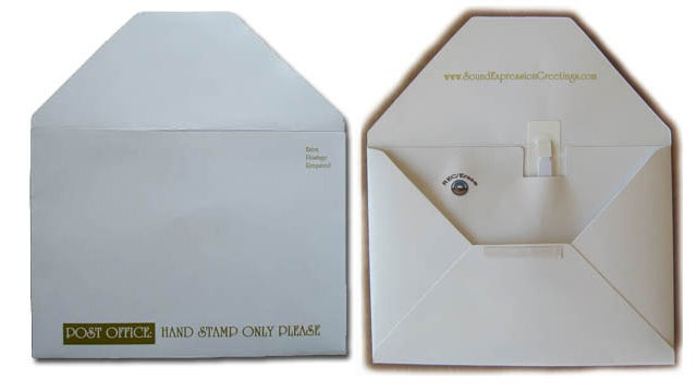 Bring Snail Mail Unto the 21st Century With Recordable, Rewritable Talking Envelopes