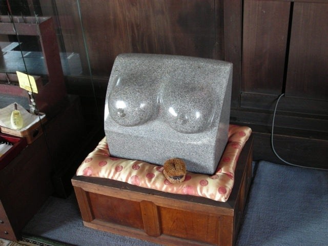 There Are Japanese Temples for Boobs
