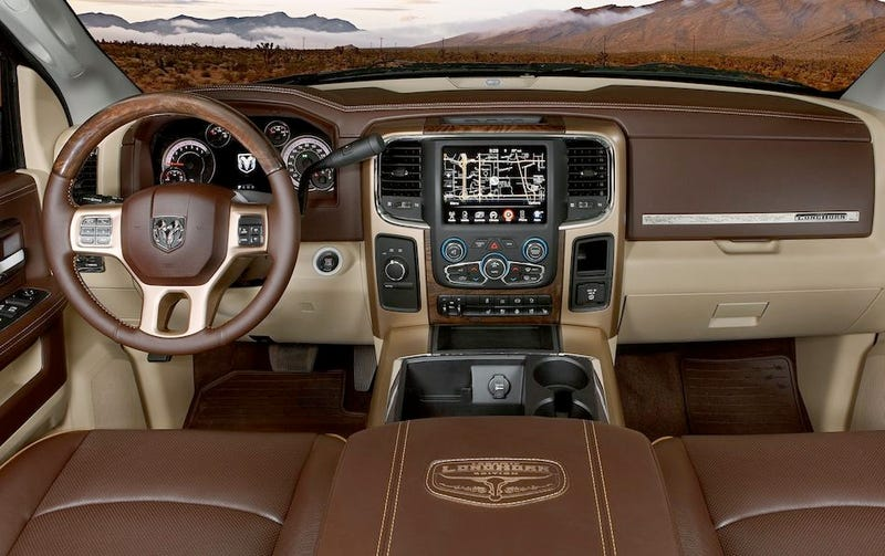 More than you cared to know about a truck interior.