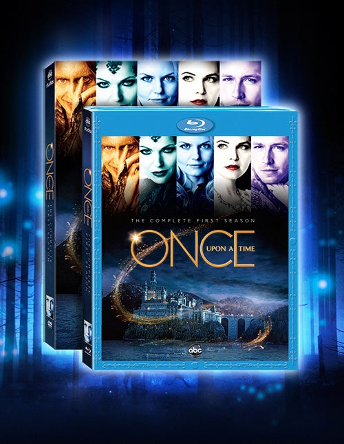 Once Upon A Time Season 1 DVD Art Gallery