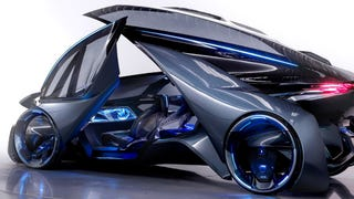 Your Eyes Aren't Ready For The Self-Driving Chevrolet-FNR Concept