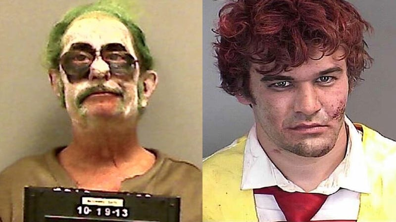 Terrifying Clowns Arrested In New Jersey and Maine
