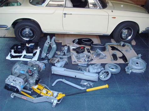 NOOOOOO!!! Karmann Ghia 1500 Back In Pieces
