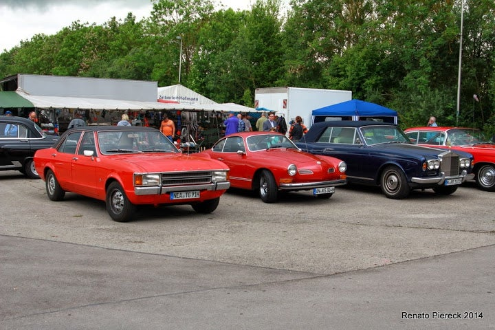 Oldtimer meeting in Ansbach, Germany