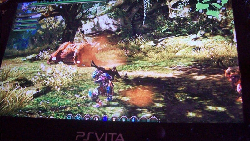 This Might Be the First Look at the PS Vita's Savior, a New Monster Hunter. It Might Not. [UPDATE: More signs of a hoax]