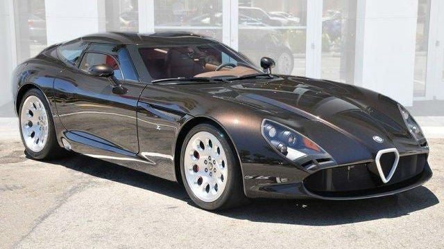 This Viper-Based Alfa Romeo Is Gloriously Brown And Yours For $700,000
