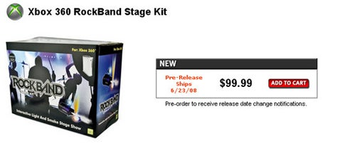Rock Band Stage Kit Gives You Smoke, Lights, Asthma