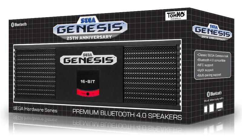 The Sega Genesis Lives Again (As a Bluetooth Speaker)
