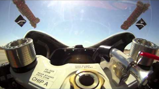 The View From the World's Fastest Electric Motorcycle