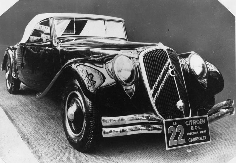 The Cutting-Edge Citroën Traction Avant Is 80 Years Old