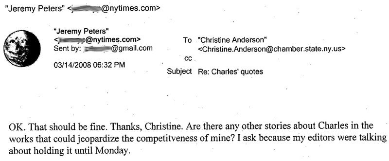 The Spitzer Files: How the New York Times and the Press Serviced Client No. 9