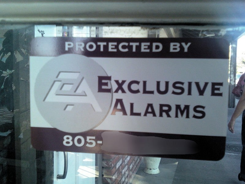 SoCal Alarm Service About to Get a Letter from NorCal Games Publisher