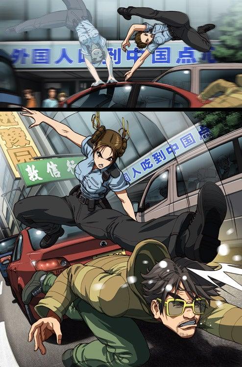 Udon's New Chun-Li Comic Gets Thighs Just Right