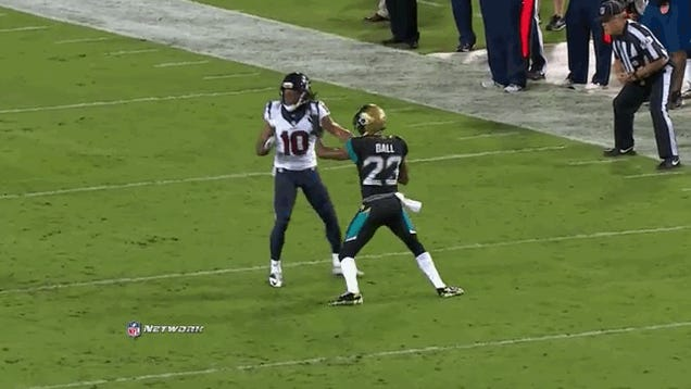 The Best Part Of Tonight's Texans-Jaguars Game