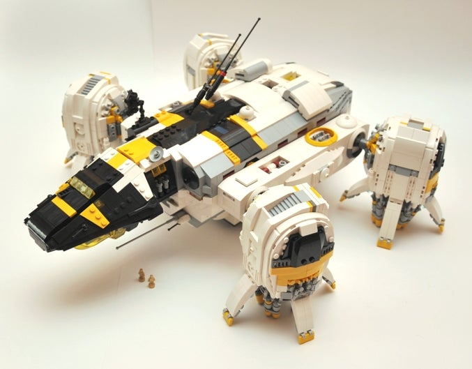 These LEGO Prometheus models need tiny, smarmy androids