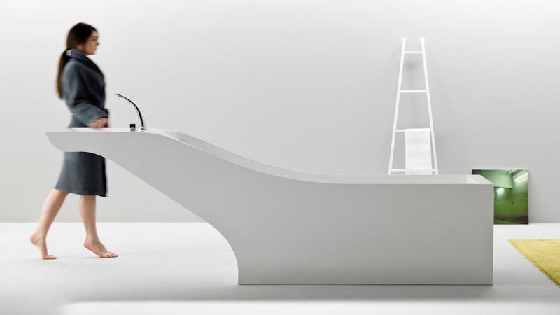 This Wonder Tub Has a Built-in Sink, Speakers, and Digital Controls