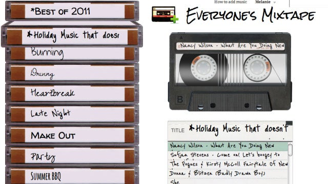 Everyone's Mixtape Is a Socially-Curated Playlist Creator