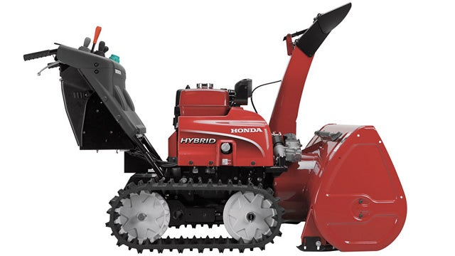 Plowing a Quarter Inch of Snow Feels Less Guilty With a Hybrid Snowblower